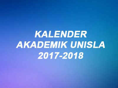 Kalender Akademik 2017-2018