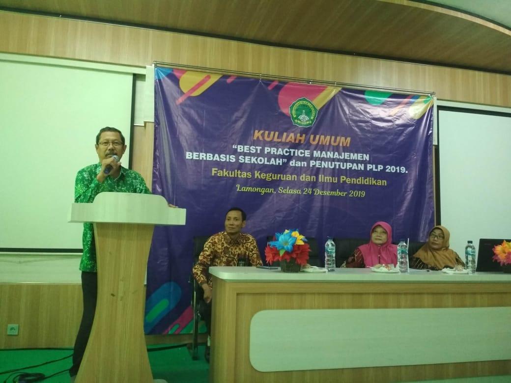 Mahasiswa FKIP Unisla Dibekali Best Practice Manajemen Berbasis Sekolah